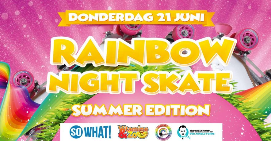 Rainbow Night Skate - Summer Edition